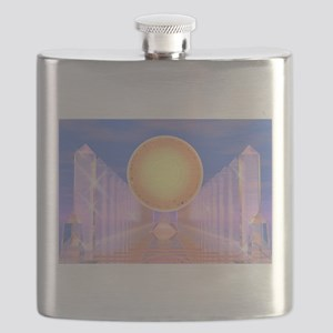 Crystal Temple Flask