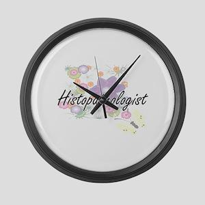 Histopathologist Artistic Job Des Large Wall Clock