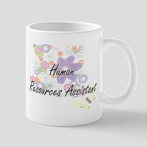 Human Resources Assistant Artistic Job Design Mugs