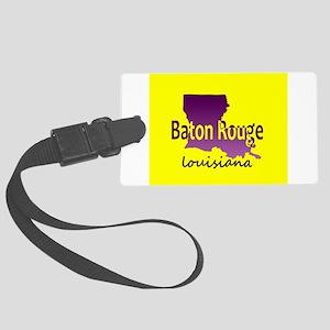 LOUISIANA BATON ROUGE 225 Area C Large Luggage Tag