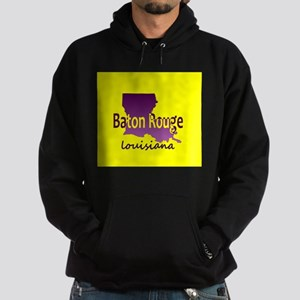 LOUISIANA BATON ROUGE 225 Area Code Hoodie (dark)