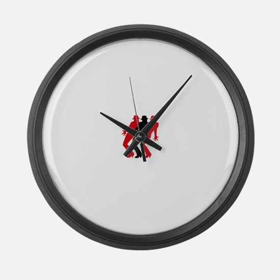 Cool Broadway musicals Large Wall Clock