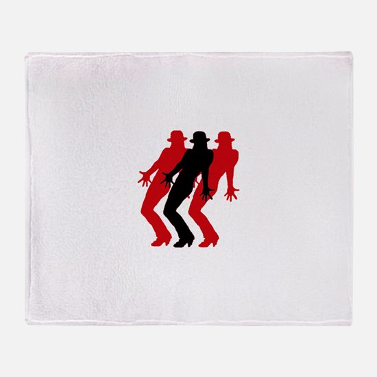 Cool Jazz dance Throw Blanket