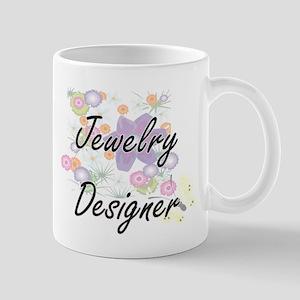 Jewelry Designer Artistic Job Design with Flo Mugs