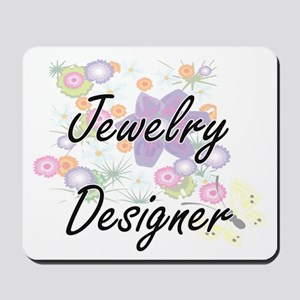 Jewelry Designer Artistic Job Design wit Mousepad