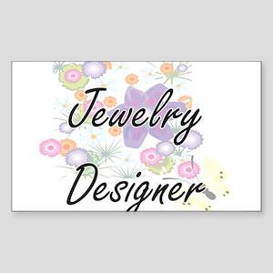 Jewelry Designer Artistic Job Design with Sticker