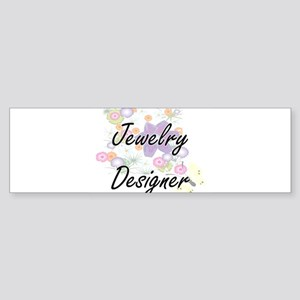 Jewelry Designer Artistic Job Desig Bumper Sticker