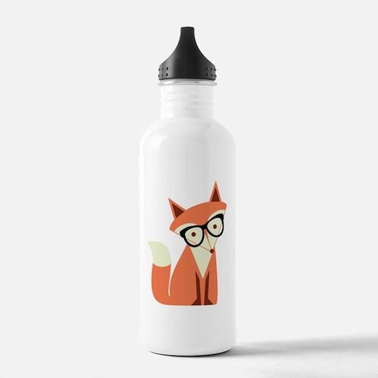 Unique Foxes Water Bottle