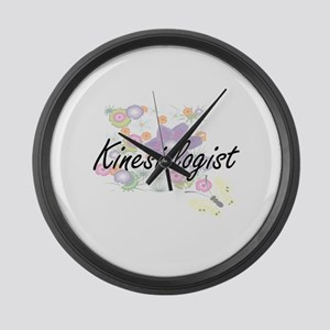 Kinesiologist Artistic Job Design Large Wall Clock