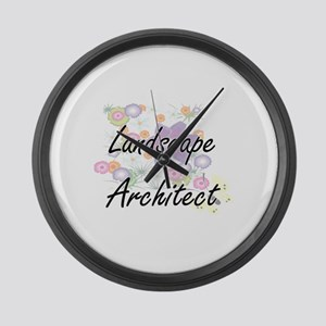 Landscape Architect Artistic Job Large Wall Clock