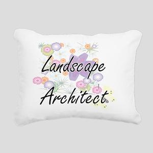 Landscape Architect Arti Rectangular Canvas Pillow