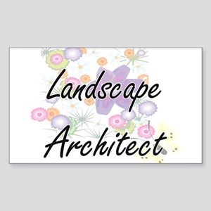 Landscape Architect Artistic Job Design wi Sticker