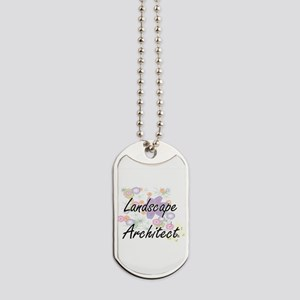 Landscape Architect Artistic Job Design w Dog Tags