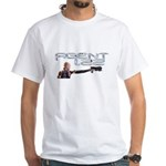 Agent 1.22 Shooting Gun Men's White T-Shirt