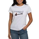 Agent 1.22 Shooting Gun Women's White T-Shirt