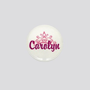Princess Crown Personalize Mini Button