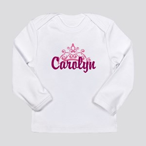 Princess Crown Personalize Long Sleeve T-Shirt