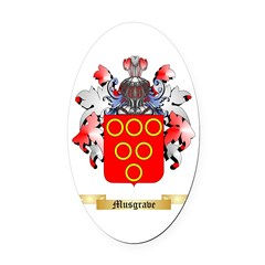 Musgrave Oval Car Magnet