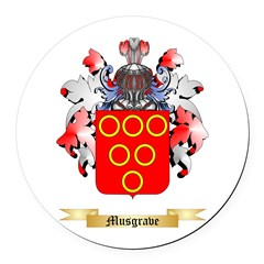 Musgrave Round Car Magnet
