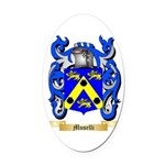 Muselli Oval Car Magnet