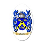 Muselli 35x21 Oval Wall Decal