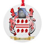 Musckie Round Ornament