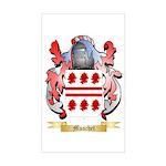 Muschet Sticker (Rectangle)