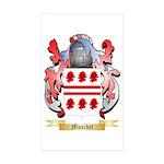 Muschet Sticker (Rectangle 10 pk)