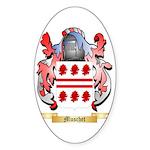 Muschet Sticker (Oval 10 pk)