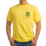 Muschamp Yellow T-Shirt