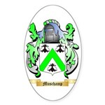 Muschamp Sticker (Oval 50 pk)
