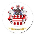 Musca Round Car Magnet