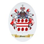 Musca Oval Ornament
