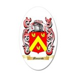 Musaiov 20x12 Oval Wall Decal