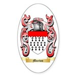 Murton Sticker (Oval 50 pk)