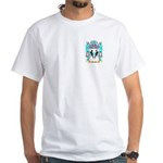 Murtha White T-Shirt