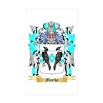 Murtha Sticker (Rectangle 50 pk)