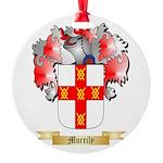 Murrily Round Ornament