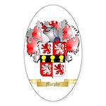 Murphy Sticker (Oval 50 pk)