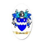 Murillo Oval Car Magnet