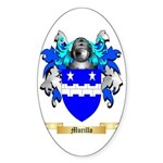 Murillo Sticker (Oval)