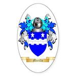 Murillo Sticker (Oval 50 pk)