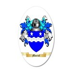 Muriel 35x21 Oval Wall Decal