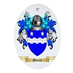 Muriel Oval Ornament