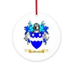Muriel Round Ornament