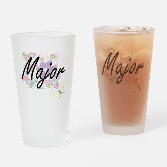 Major Artistic Job Design with Flow Drinking Glass