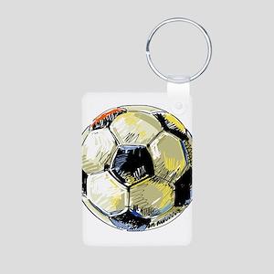Hand Drawn Football Keychains