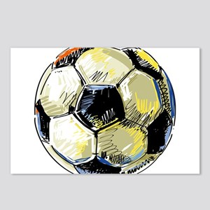 Hand Drawn Football Postcards (Package of 8)