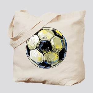 Hand Drawn Football Tote Bag