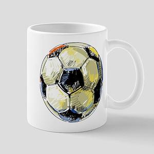Hand Drawn Football Mugs